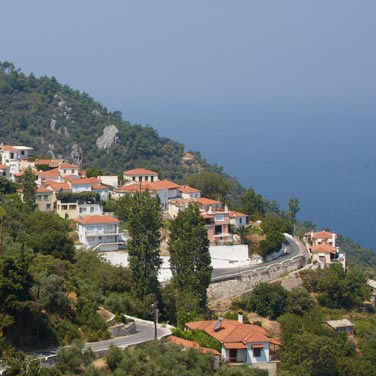 Wonderful landscapes directly next to our holiday home in Samos